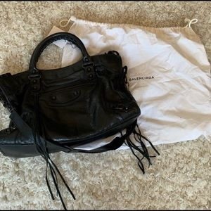 Balenciaga Classic City Bag Black